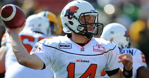 Travis Lulay - July 16th, 2011: Photo: Canadian Press / Ian Jackson
