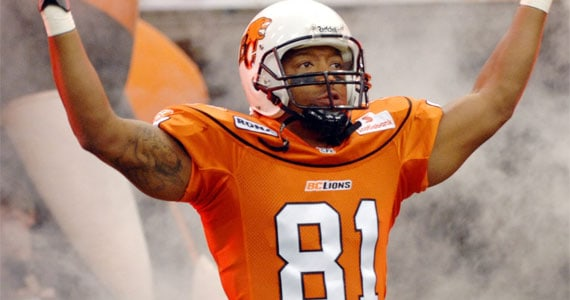 Geroy Simon - Photo: CFL.ca
