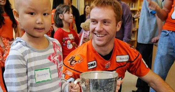 Travis Lulay - Photo Credit: Vancouver Sun