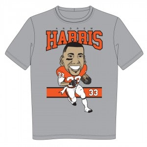 Andrew Harris T-shirt for Boys and Girls Club